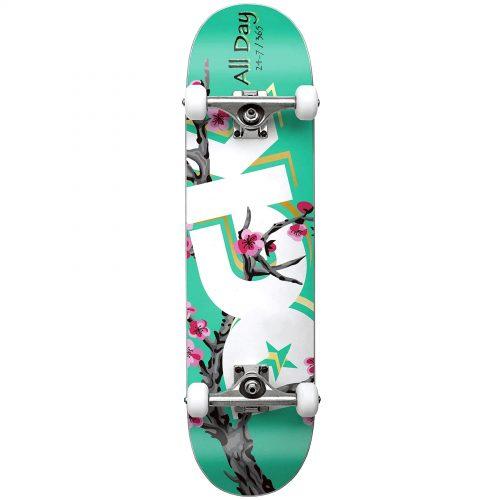 DGK Blossom Complete 8.25 x 31.75 Green Skateboard Canada Pickup Vancouver