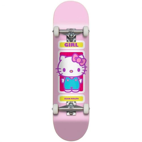 Girl X Sanrio Hello Kitty Sean Malto 8 x 31.75 Complete Pink Skateboard Canada Pickup Vancouver