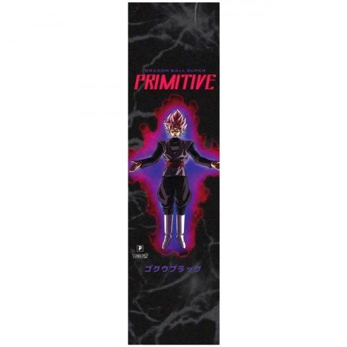 Primitive X Dragon Ball Z Goku Black Rose Griptape 9 x 33 Skateboard Canada Pickup Vancouver