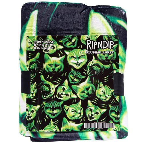 RipnDip Neon Green Throw Blanket Canada Pickup Vancouver
