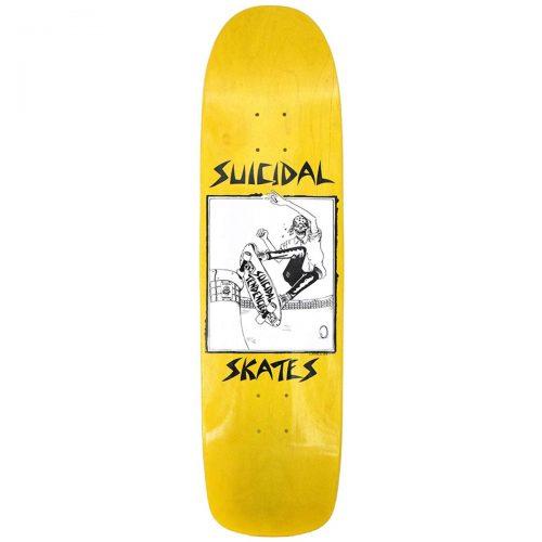 Suicidal Skates Pool Skater 8.5 Yellow Skateboard Canada Pickup Vancouver