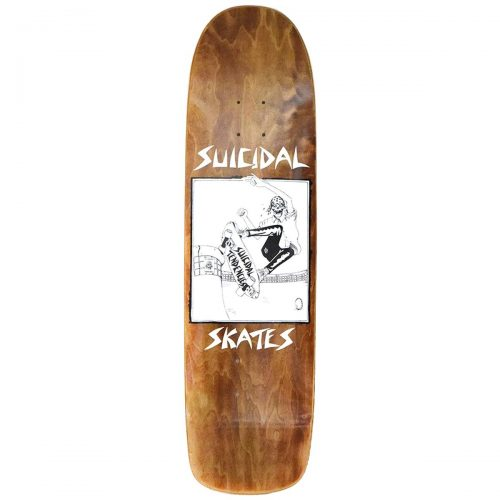 Suicidal Skates Pool Skater 8.5 brown Skateboard Canada Pickup Vancouver