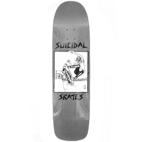 Suicidal Skates Pool Skater Deck 8.5 x 32.075 Grey Skateboard Canada Pickup Vancouver