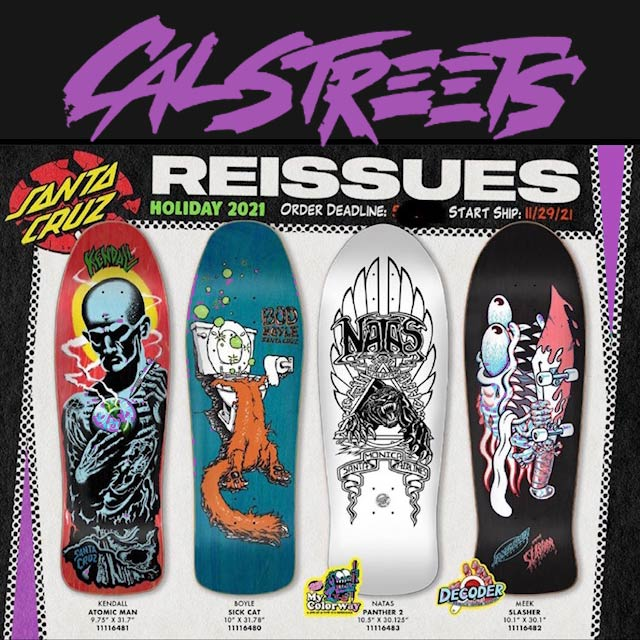 "Santa Cruz Primary Hand Skateboard Sticker 6/"""
