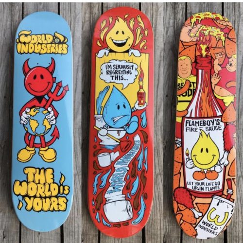 World Industries Skateboards Canada Online Sales Vancouver Pickup