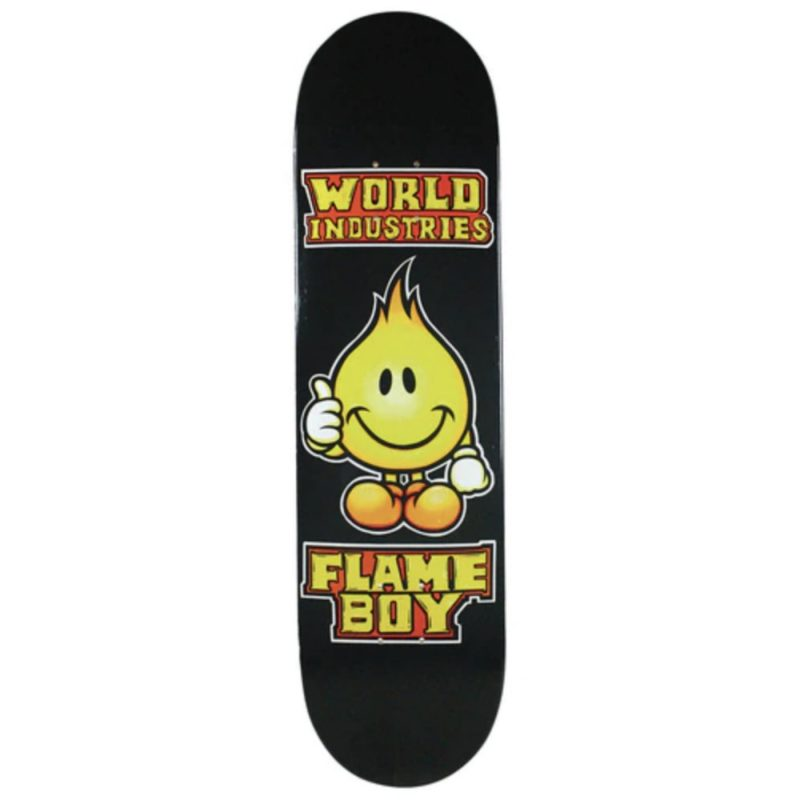 World Industries Solid Gold Flame Boy Deck Canada Online Sales Vancouver Pickup