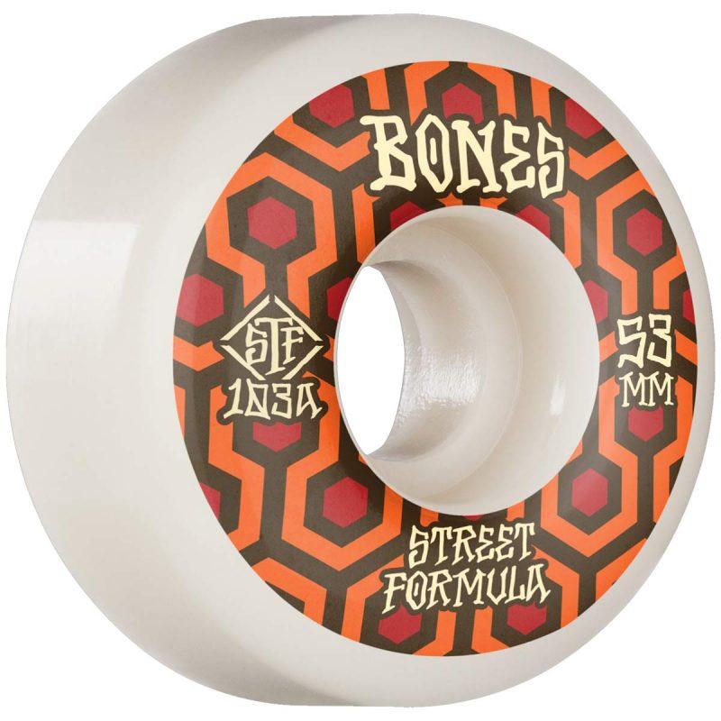 Bones Retros V1 Standards 53mm 103a White Skateboard Wheels Canada Pickup Vancouver