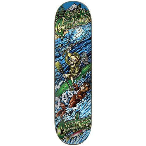 "Creature David Gravette Yak Sesh Deck 8.3"" x 32.2"" Blue Skateboard Canada Pickup Vancouver"