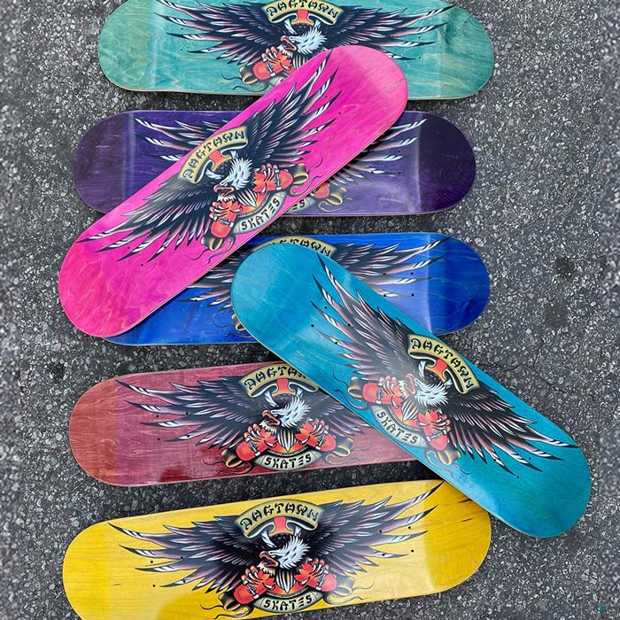 Dogtown Proud Bird Street Decks Assorted Stains 8 8.25 8.75 Skateboard Canada Pickup Vancouver