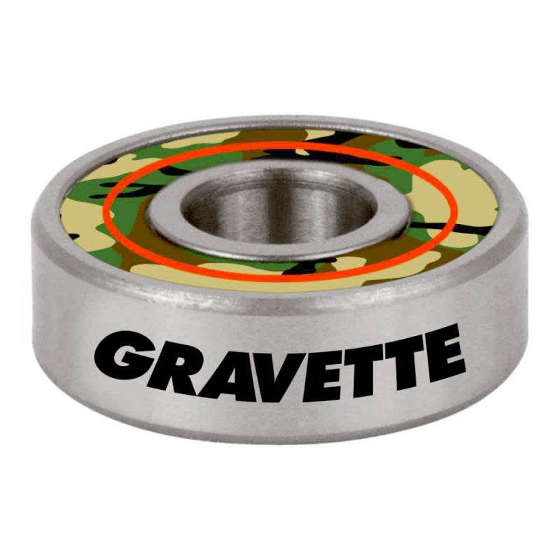Bronson Gravette G3 Bearings Camo Canada Pickup Vancouver