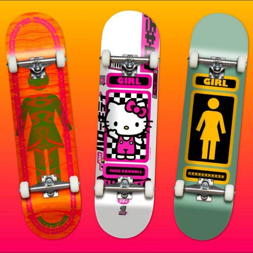 Hello Kitty Girl Skateboards Canada Pickup Vancouver