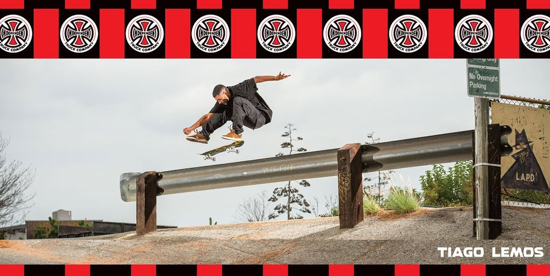 Independent Pro Tiago Lemos Mid Trucks Skateboard Canada Pickup Vancouver