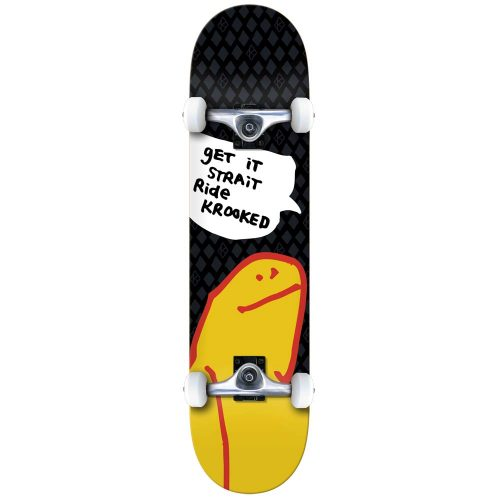 Krooked O Geez Shmoo Skateboard Complete Canada Pickup Vancouver