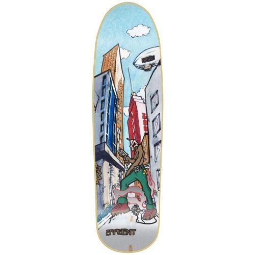 New Deal Sargent Invader Skateboard Deck Online Canada Vancouver
