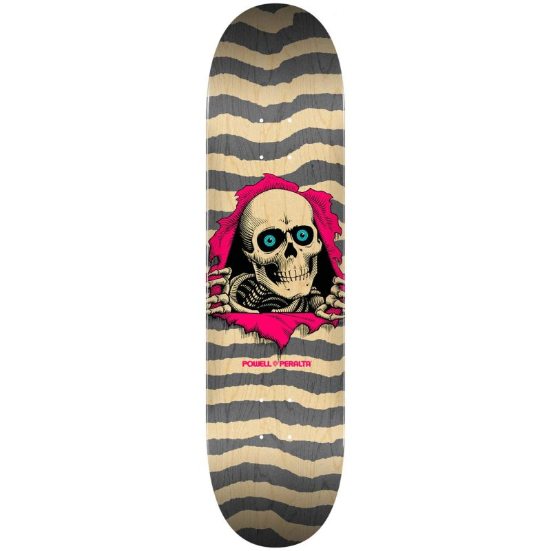 "Powell-Peralta Ripper Deck 8.25"" x 31.95"" Natural/Grey Skateboard Canada Pickup Vancouver"