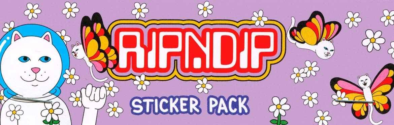 RipnDip Sticker Canada Pickup Vancouver