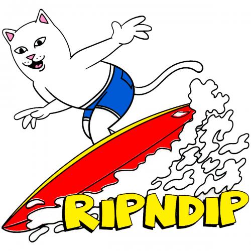 RIP N DIP STICKERS CANADA PICKUP Vancouver