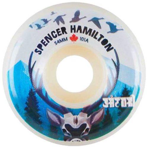 SATORI SPENCER HAMILTON CANADA BLUE 54mm 101A Skateboard Wheels Pickup Vancouver