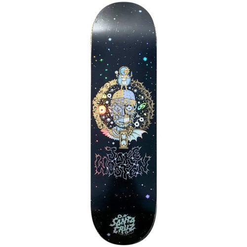 "Santa Cruz Jake Wooten Crest Deck 8.5"" x 32.2"" Black Prismatic Skateboard Canada Pickup Vancouver"