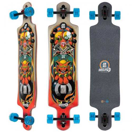 Sector 9 Complete Monkey King Paradiso 9.75 x 40.5 Longboard Canada Pickup Vancouver