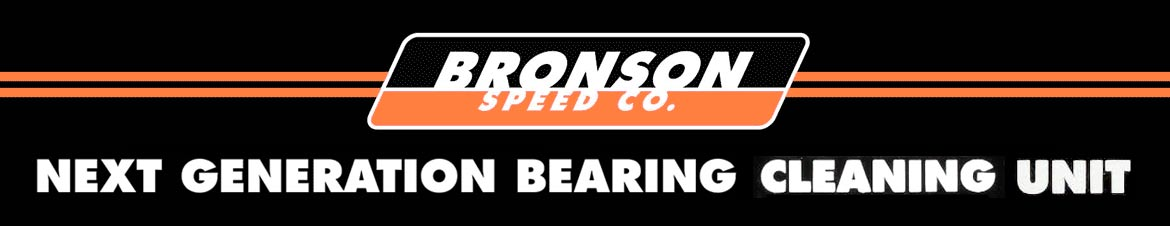 Bronson Speed Co Next Generation Bearing Cleaning Unit Canada pickup Vancouver