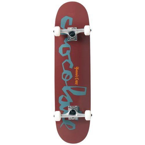 Chocolate Yonnie Cruz Chunk Complete 31.25 x 7.875 Maroon Skateboard Canada Pickup Vancouver