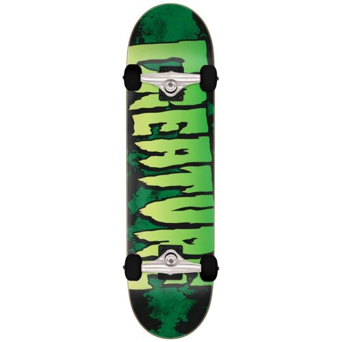 Creature Logo Large Complete 8.25 x 31.5 green Skateboard Canada Pickup Vancouver