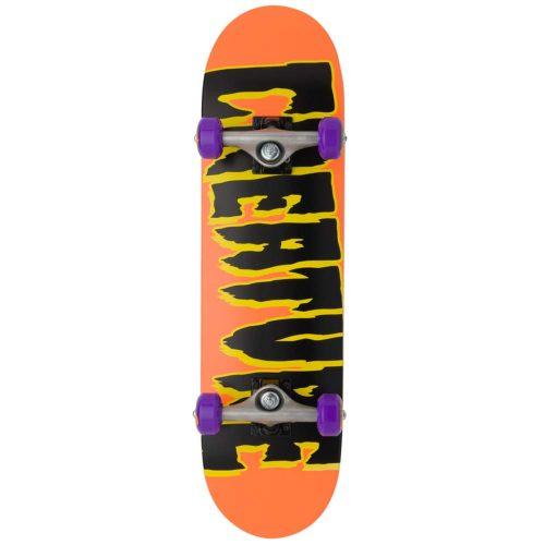 Creature Logo micro Complete 7.5 x 28.25 Orange Skateboard Canada Pickup Vancouver