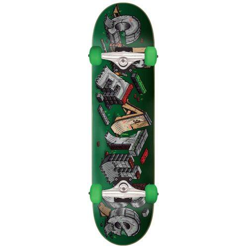 "Creature Slab DIY Full Complete 8"" x 31.25"" green Skateboard Canada Pickup Vancouver"