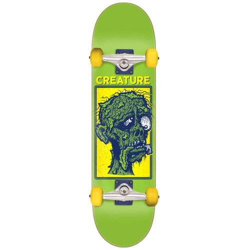 Creature return of the fiend mid Complete 7.8 x 31 green Skateboard Canada Pickup Vancouver