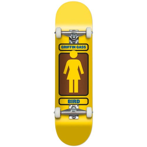 Girl Griffin Gass 93 Til Complete 7.75 x 31.125 Yellow Skateboard Canada Vancouver Pickup