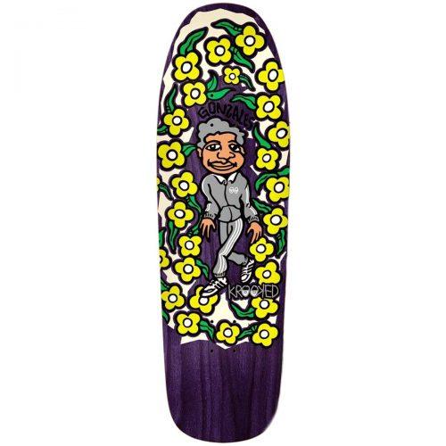 Krooked Gonz Sweatpants Deck Purple Skateboard Canada Pickup Vancouver