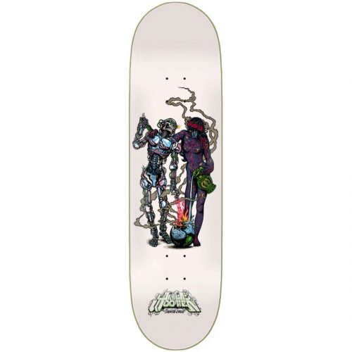Santa Cruz Jake Wooten Duo VX Deck 8.5 x 32.2 White Skateboard Canada Pickup Vancouver