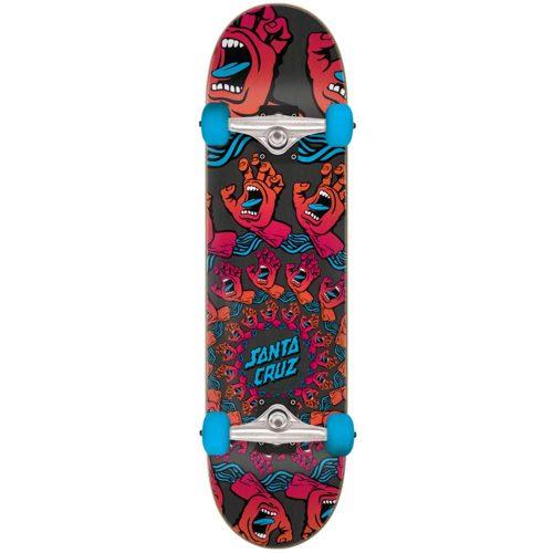 "Santa Cruz Mandala Hand Full Complete 8"" x 31.25"" Red Skateboard Canada Pickup Vancouver"