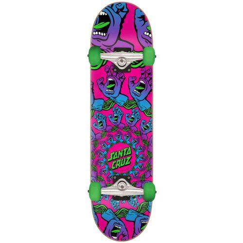 "Santa Cruz Mandala Hand Mini Complete 7.75"" x 30"" pink Youth Skateboard Complete Canada Pickup Vancouver"
