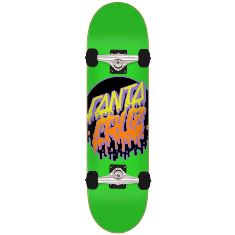 Santa Cruz Rad Dot Micro 7.5 x 28.25 Green Skateboard Youth Complete Canada Pickup Vancouver