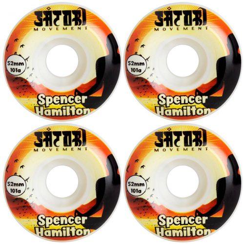 Spencer Hamilton Satori Movement Wheels Meditate Conical 52mm 101a Orange Skateboard Canada Pickup Vancouver