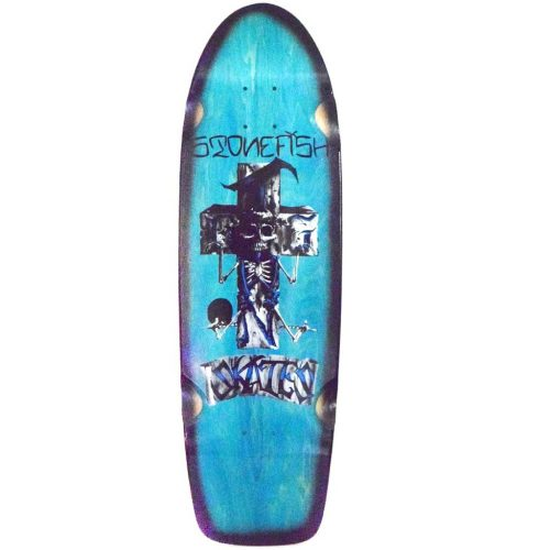 Dogtown Stonefish 70s Rider Reissue Skateboard Light Blue Canada Pickup Vancouver