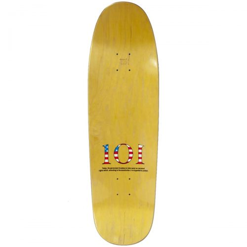 101 Skateboards Natas Kaupas Patriot Reissue Deck 9.5 x 32 Brown Skateboard Canada Pickup Vancouver