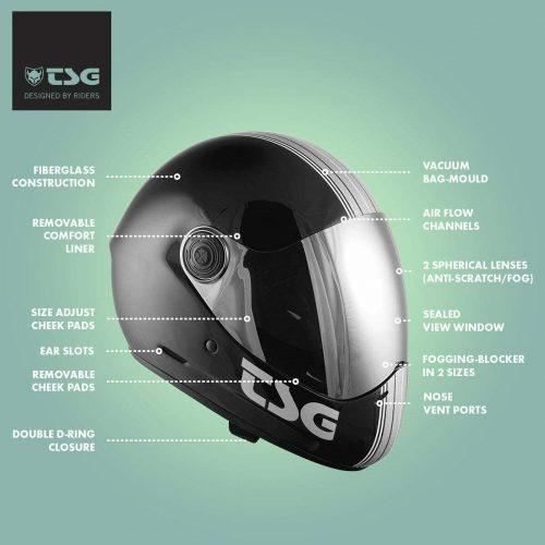 TSG Full Face Helmet Pass Canada Pickup Vancouver