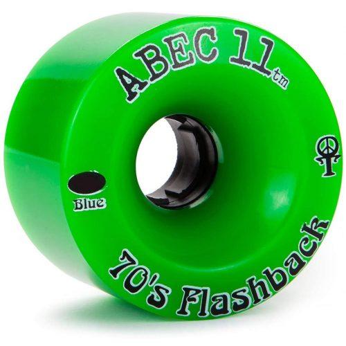 Abec 11 Green Thane 70's flashback 70mm 81a Longboard Wheels Canada Pickup Vancouver