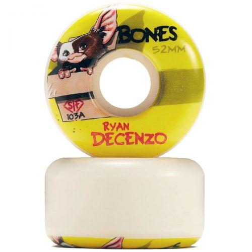 Bones STF Ryan Decenzo Gizzmo V2 Locks 52mm 103a White Skateboard Wheels Canada Pickup Vancouver