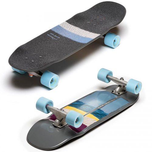 Carver X Loaded Bolsa Surfskate Complete 9.4 x 31 Grey Skateboard Canada Pickup Vancouver