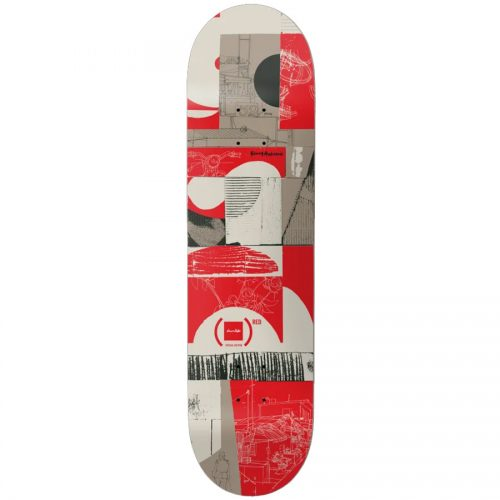Chocolate Kenny Anderson Special Edition Product Red Deck 8.25 x 31.875 Red Grey Skateboard Canada Pickup Vancouver