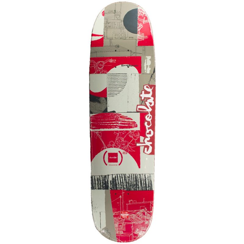 Chocolate Kenny Anderson Special Edition Product Red skidul Deck 8.5 x 31.625 Red Grey Skateboard Canada Pickup Vancouver