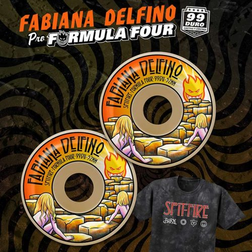 Spitfire Formula Four Fabiana Delfino Conical Full 52mm 53mm 99a Natural Skateboard Wheels Canada Pickup Vancouver