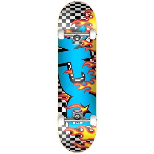 DGK On Fire Complete 7.75 x 31.5 Blue Skateboard Canada Pickup Vancouver