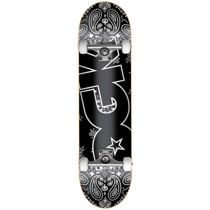 DGK Paisley Complete 7.5 x 31 black Skateboard Canada Pickup Vancouver