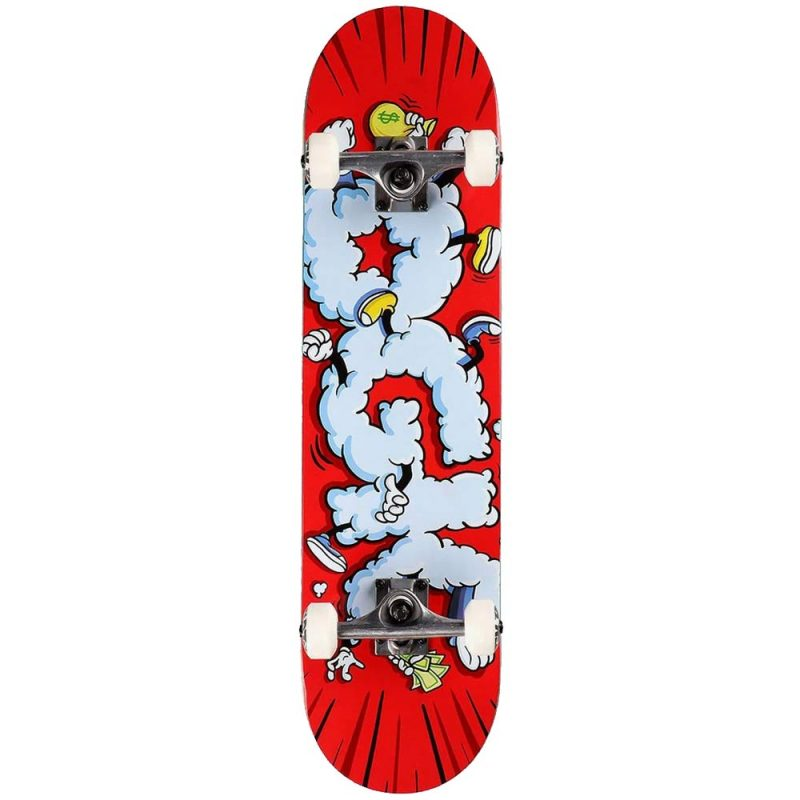 DGK Scraps Complete 7.75 x 31.5 Red Skateboard Canada Pickup Vancouver