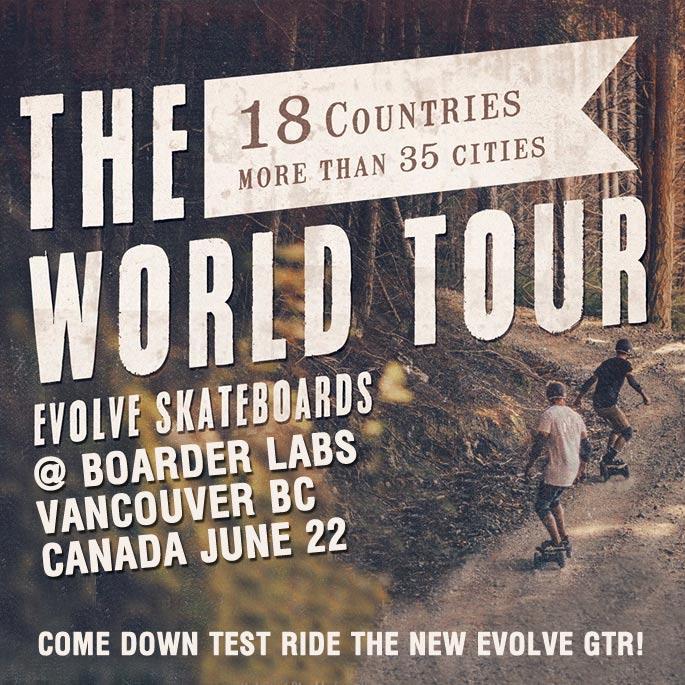 Evolve Skateboards History Canada Vancouver